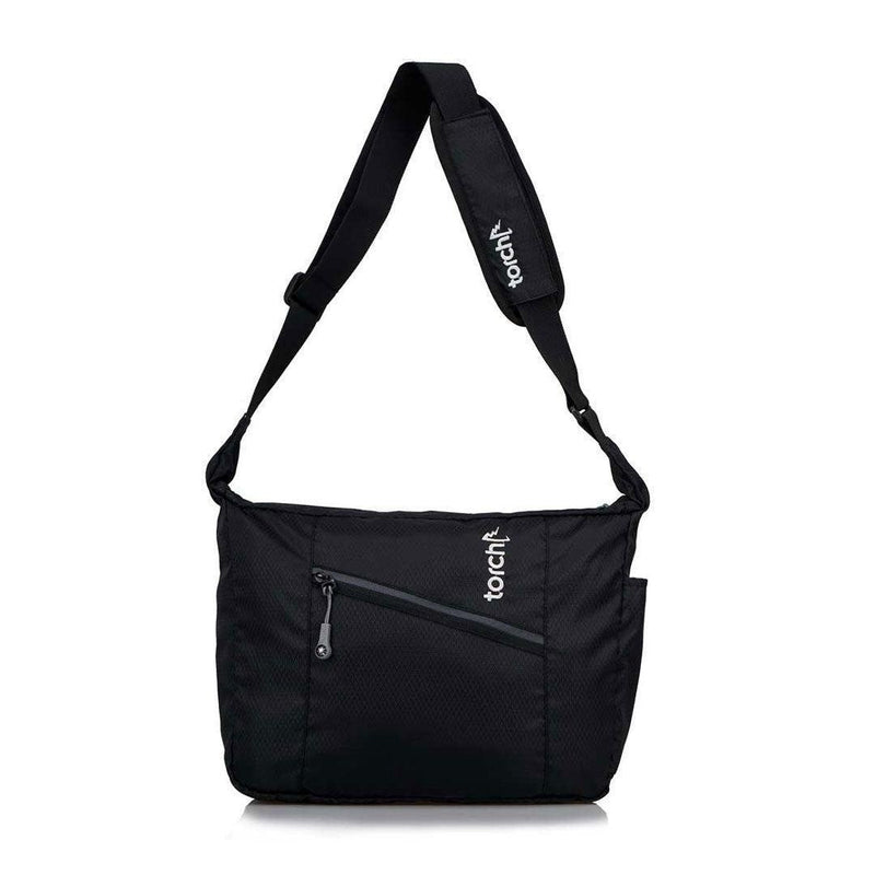 Yokote Messenger Bag - Jet Black