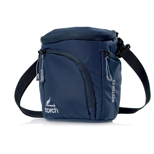 Boston Mirrorless Camera Pouch - Navy