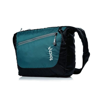 Kaga Messenger Bag - Black Everglade Tosca