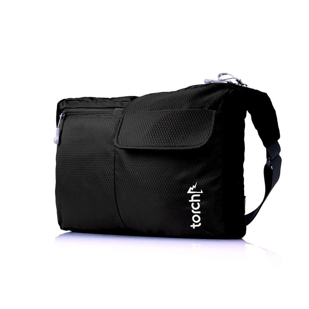 Odate Messenger Bag - Jet Black