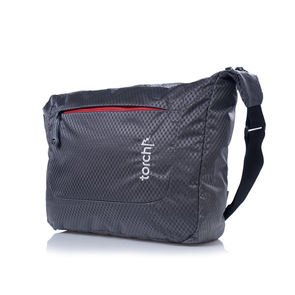 Sanmu Messenger Bag - Gunmetal Grey