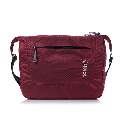 Sanmu Messenger Bag - Merah