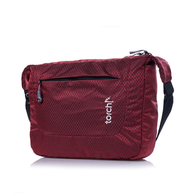 Sanmu Messenger Bag - Haute Red