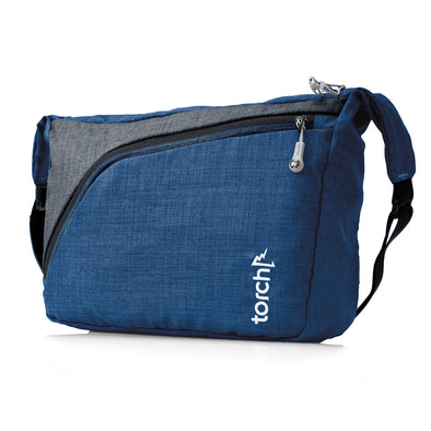 Mihara Messenger Bag - Federal Misty Blue