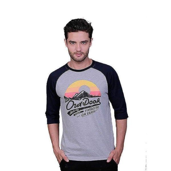 Kaos Raglan Paradise On Earth