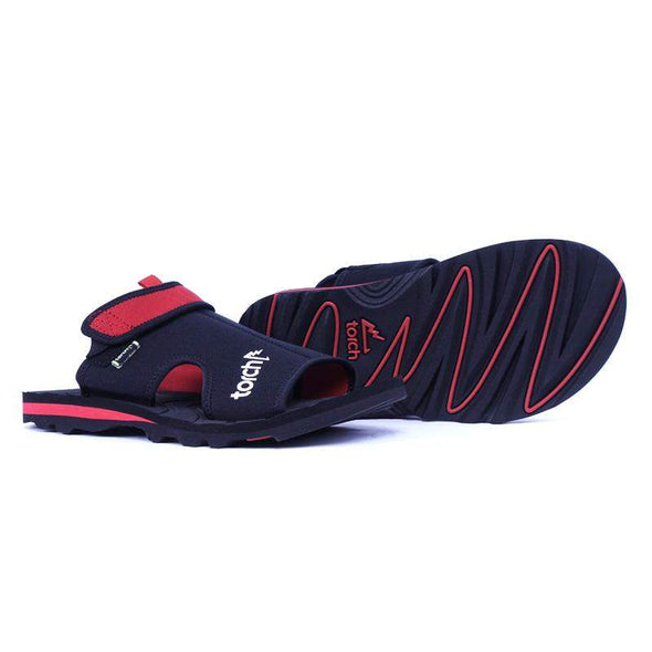Sandal Arrafa Men - Hitam Merah