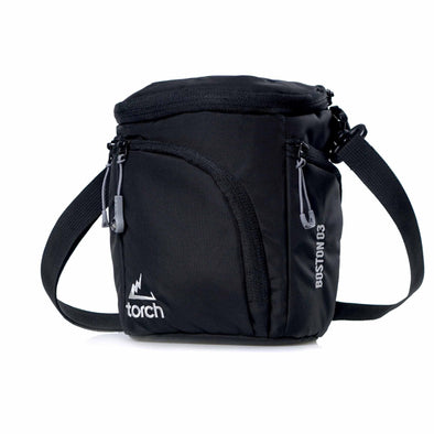 Boston Mirrorless Camera Pouch - Shale Black