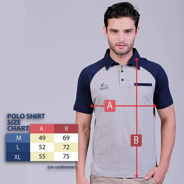 Polo Shirt Outdoor Torch Elmers