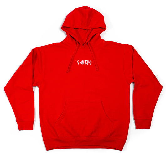 G Herbo Embroidered Hoodie (RED)
