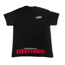 EVERYTHING T-SHIRT (BLACK)