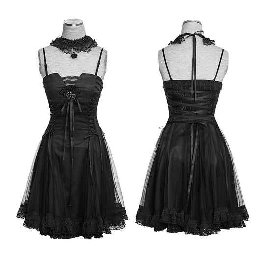 Gothic Lolita Princess Dress with Choker