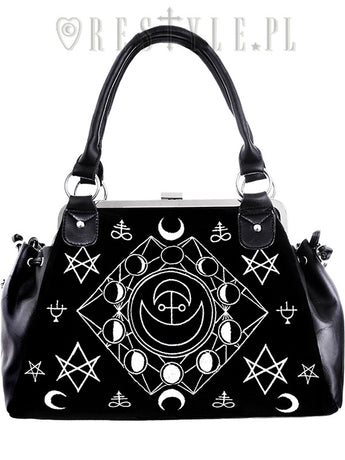 Symbolic Moon Phases Handbag by Restyle
