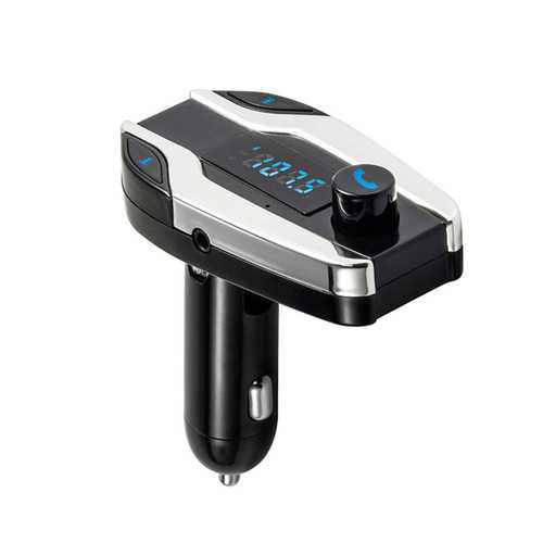 X7 Wireless Bluetooth Car Kit MP3 Player FM Transmitter SD USB Charger for Phone