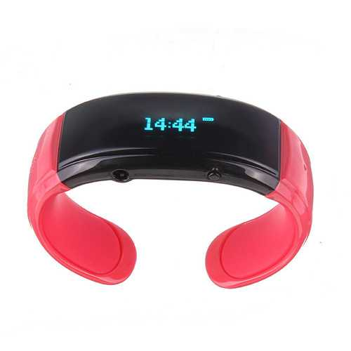 Car Home Vibrating Bracelet Phone Calls with Clock Bluetooth Function