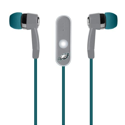Mizco NFL Philadelphia Eagles Hands-Free Earbuds