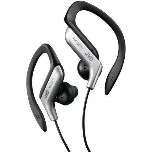JVC HAEB75S Ear-Clip Earbuds (Silver)