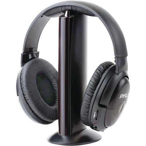 Pyle Pro Professional 5-in-1 Wireless Headphone System With Microphone PYRPHPW5