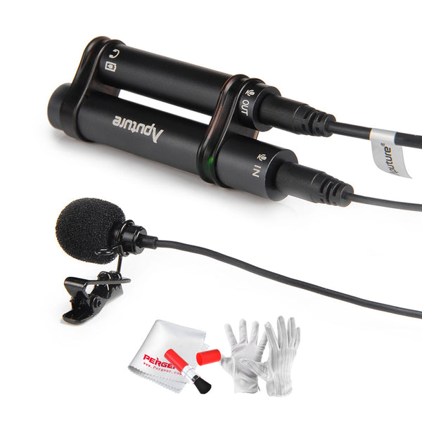 Mki Audio - Lavalier Microphone for Mobile Phone + Gift Kit