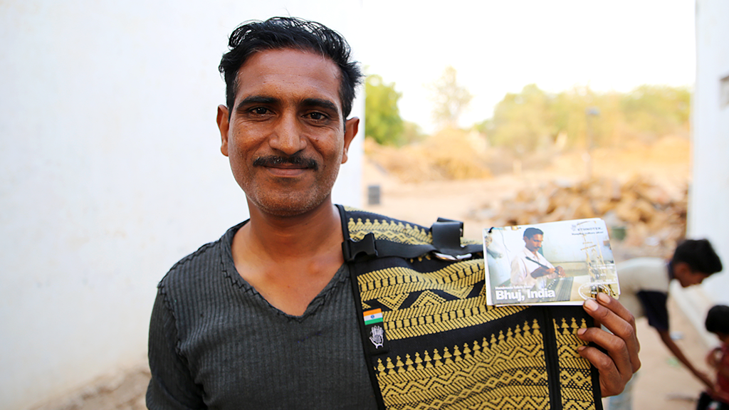 Connecting Kickstarter Backers with the Artisans in India