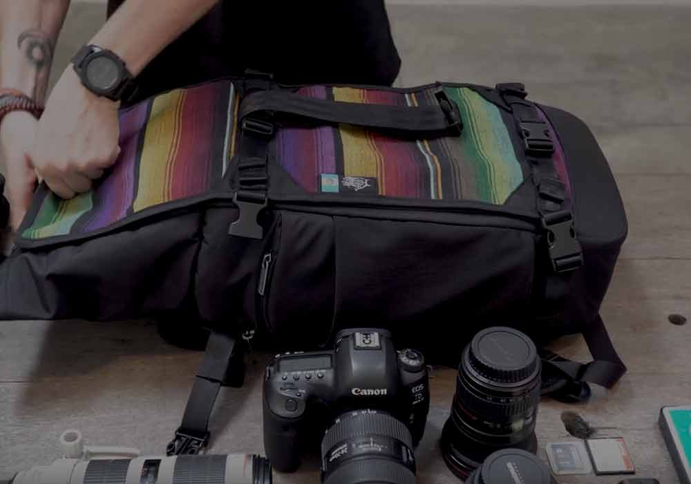 Optiks Collection of Camera Bags - Launched first on Kickstarter