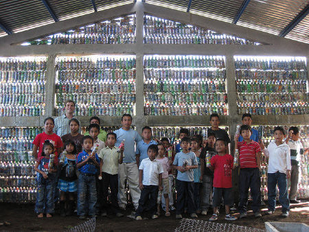 Guatemalan Schools Built from Bottles, Not Bricks