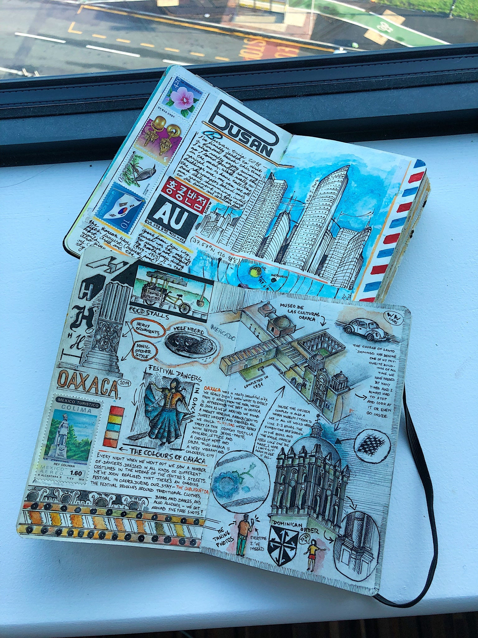 Travel journaling by Adam Hacklander