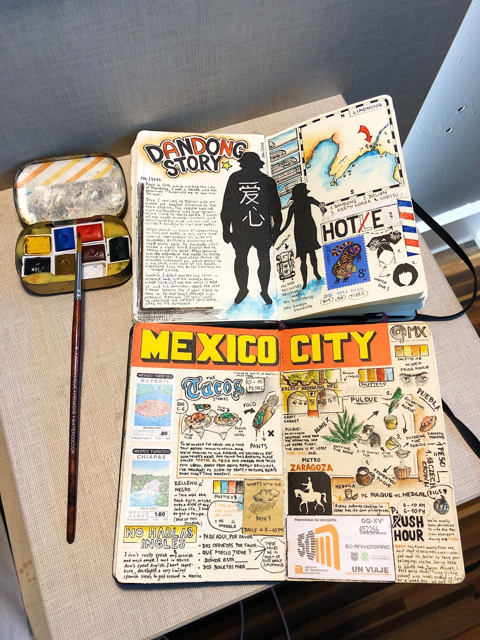 Mexico City Travel Journal by Adam Hacklander