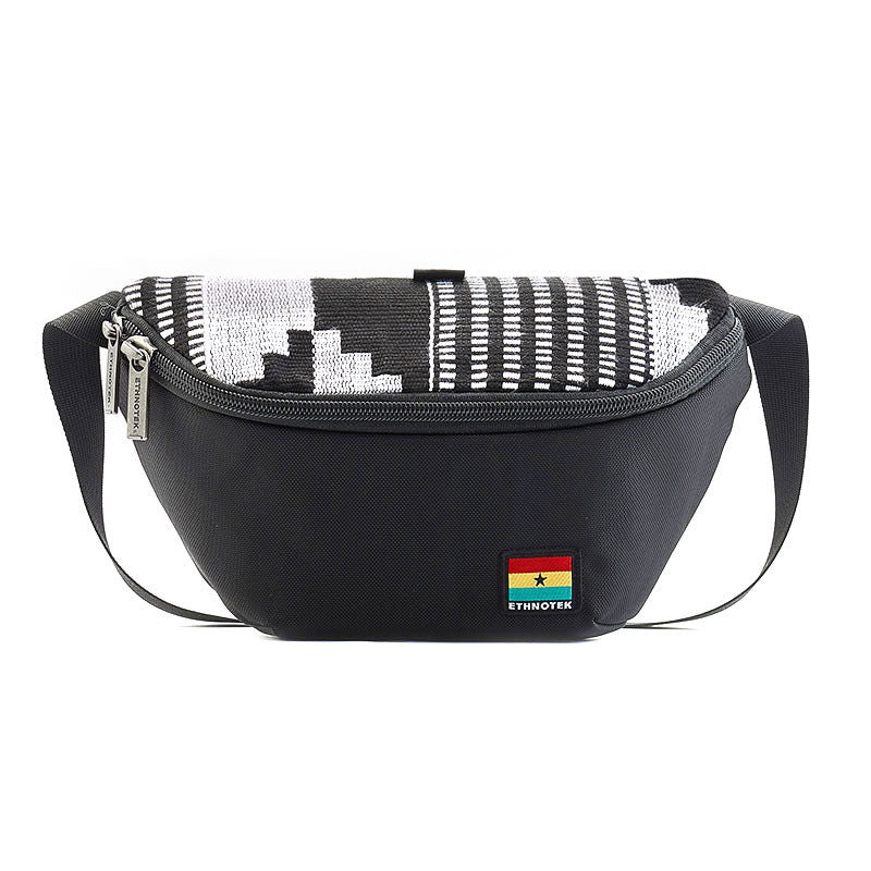 Bum Bag Fanny Pack for travel Bagus special edition ghana-kente