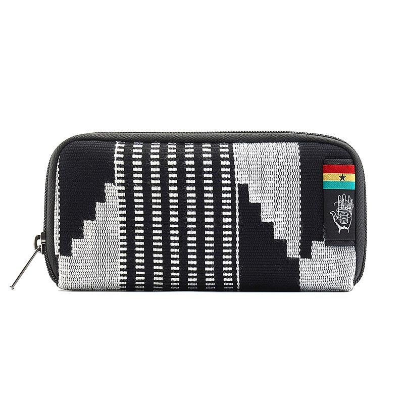 Travel security Wallet with RFID blocker ghana-kente