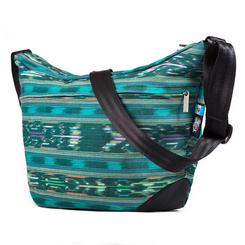 Ethnotek-bagan-cross-body-shoulder-bag-black-guatemala4-teal-green-vegan