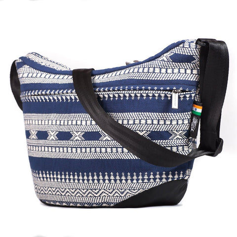 Ethnotek-bagan-cross-body-shoulder-bag-black-india14-blue-and-white-vegan