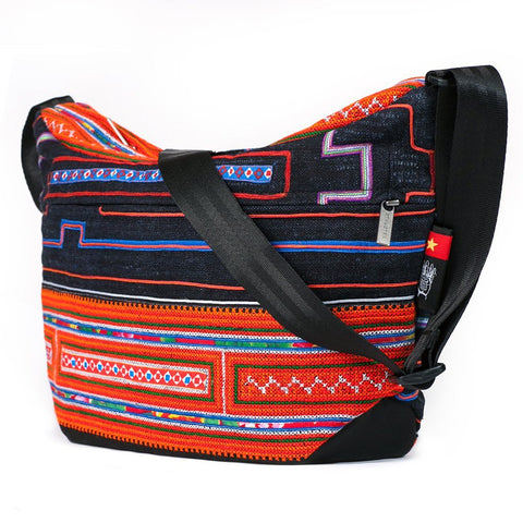 Ethnotek-bagan-cross-body-shoulder-bag-black-vietnam6-blue-and-orange-adjustable-strap