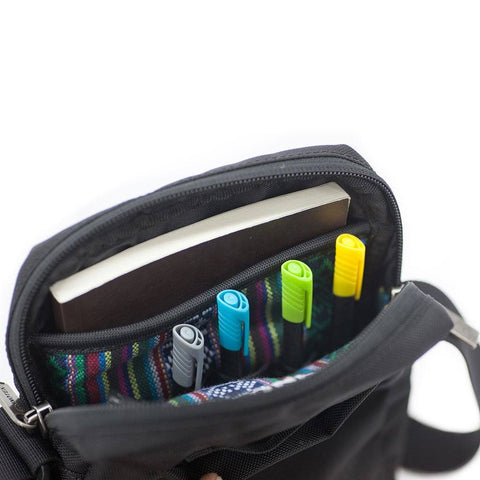 Ethnotek-chaalo-everyday-shoulder-bag-black-organizer-pockets