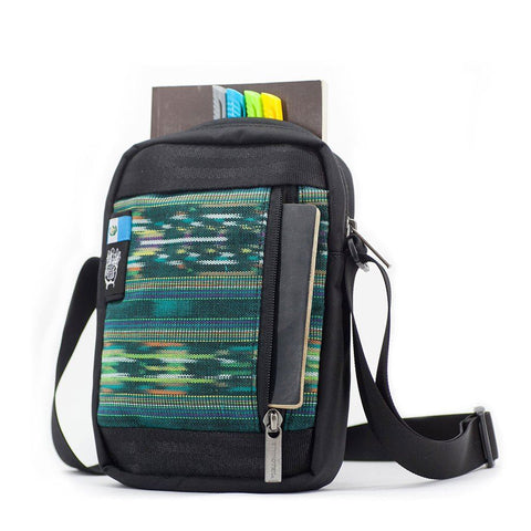 Ethnotek-chaalo-everyday-shoulder-bag-guatemala4-teal-green-fits-travel-documents