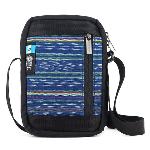 Ethnotek-chaalo-everyday-shoulder-bag-guatemala9-blue-vegan - guatemala-9 aktive-guatemala-9