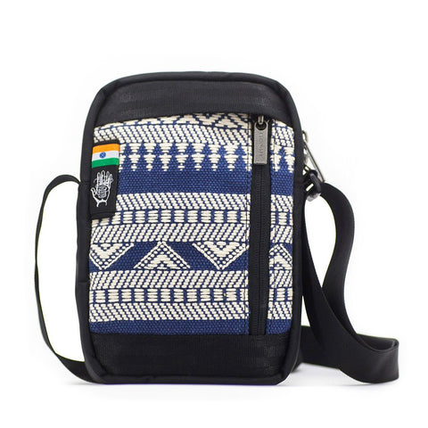 Ethnotek-chaalo-everyday-shoulder-bag-india14-blue-and-white-vegan