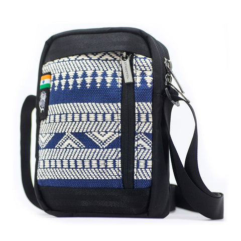 Ethnotek-chaalo-everyday-shoulder-bag-india14-blue-and-white-waterproof