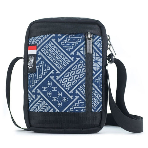Ethnotek-chaalo-everyday-shoulder-bag-indonesia6-blue-pattern-vegan aktive-indonesia hover-indonesia