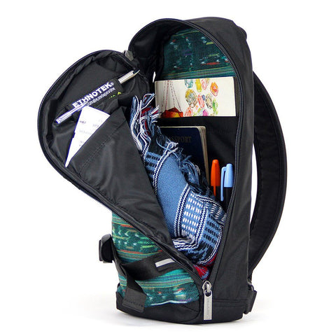 Ethnotek-jalan-cross-body-sling-bag-black-guatemala4-teal-green-fits-passport-ipad-notebooks