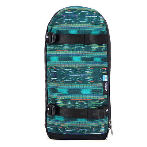 Ethnotek-jalan-cross-body-sling-bag-black-guatemala4-teal-green-waterproof