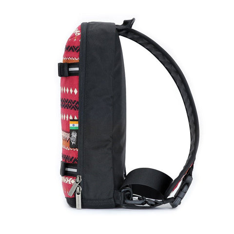 Ethnotek-jalan-cross-body-sling-bag-black-india11-red-vegan