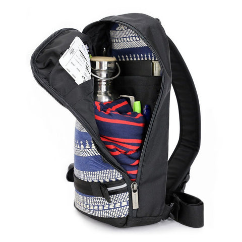 Ethnotek-jalan-cross-body-sling-bag-black-india14-blue-and-white-fits-passport-ipad-notebooks