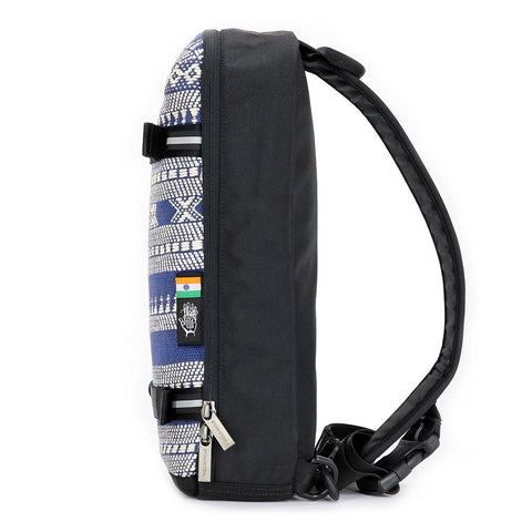 Ethnotek-jalan-cross-body-sling-bag-black-india14-blue-and-white-vegan