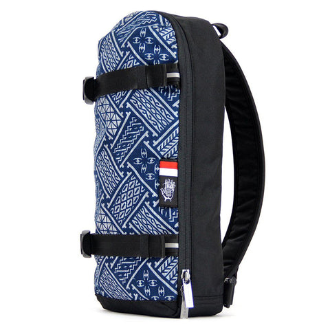 Ethnotek-jalan-cross-body-sling-bag-black-indonesia6-blue-pattern-ykk-zippers