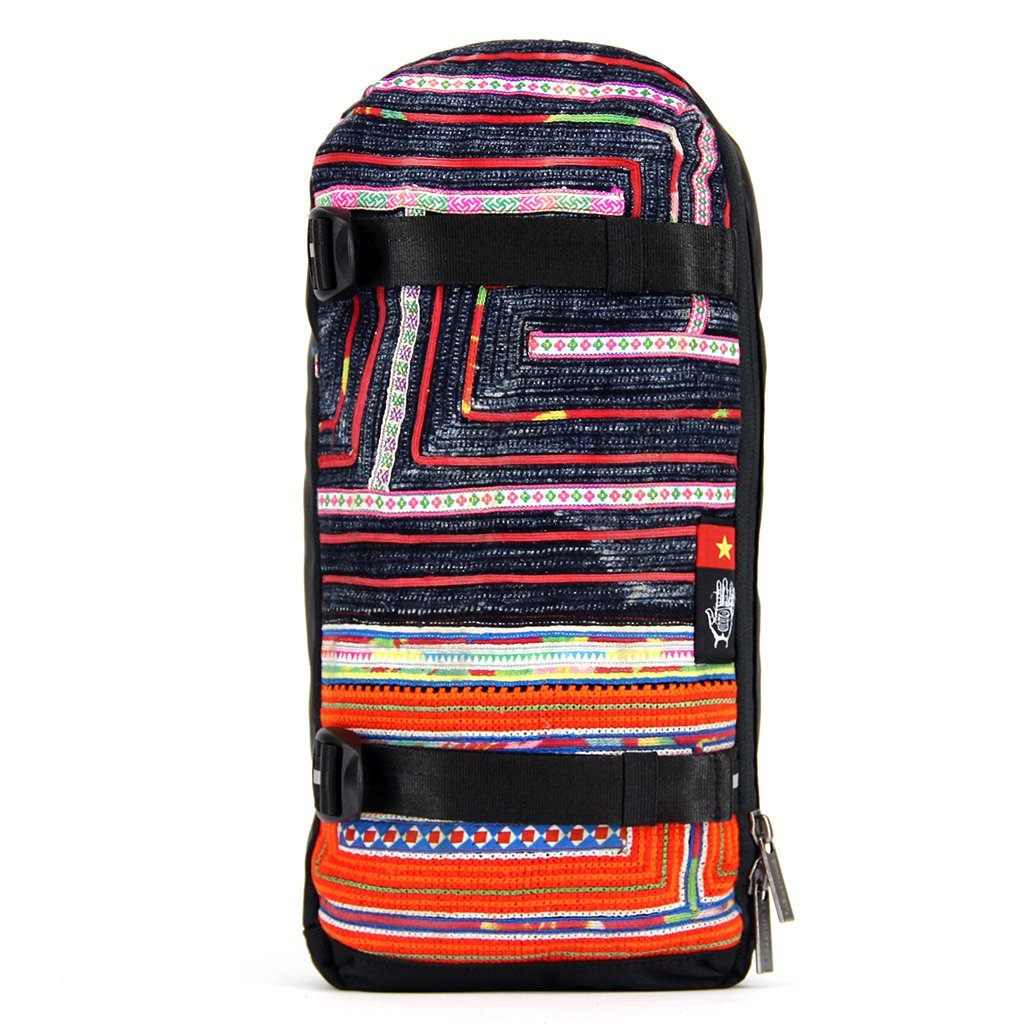 Ethnotek-jalan-cross-body-sling-bag-black-vietnam6-blue-and-orange-waterproof - vietnam-6 aktive-vietnam