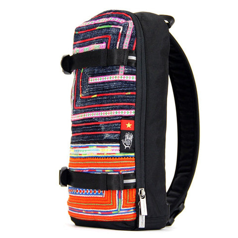 Ethnotek-jalan-cross-body-sling-bag-black-vietnam6-blue-and-orange-ykk-zippers