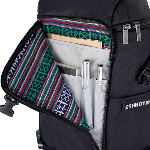 Ethnotek-premji-travel-daypack-black-fits-ipad