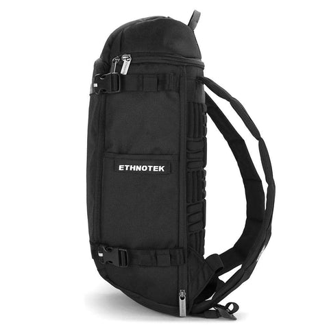 Ethnotek-premji-travel-daypack-black-recycled-fabric