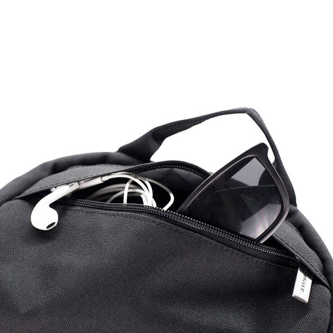 Ethnotek-premji-travel-daypack-black-sunglass-pocket