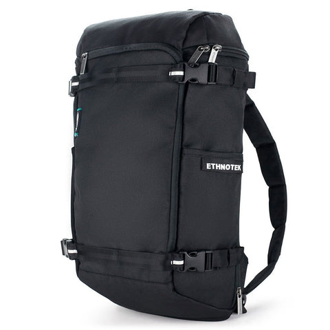 Ethnotek-premji-travel-daypack-black-vegan